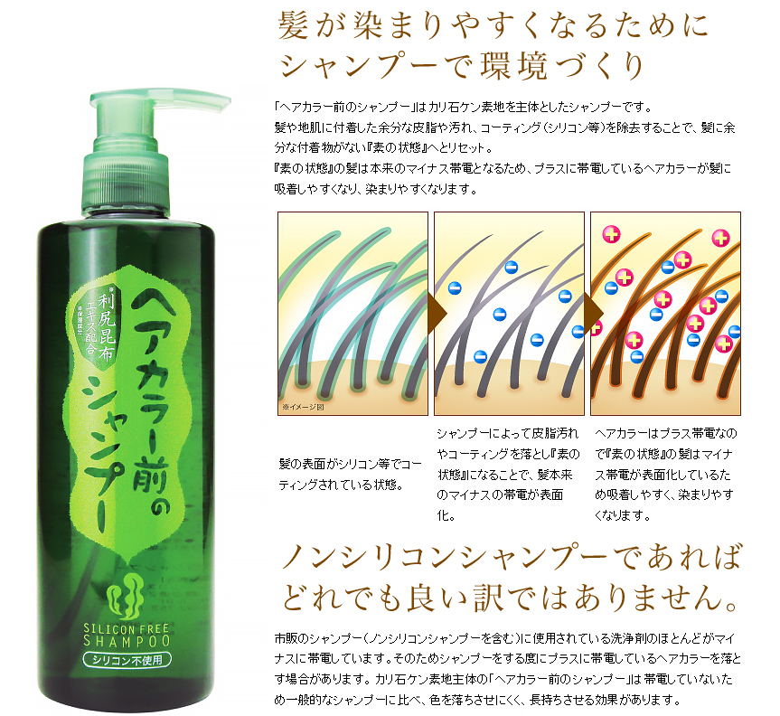 最新 天然利尻昆布 洗髮液 (不含矽)
